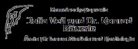 Gemeinschaftspraxis Julia Veil und Dr. Konrad Bäuerle GbR -